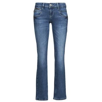 Îmbracaminte Femei Jeans drepti Freeman T.Porter ALEXA STRAIGHT SDM Albastru / Culoare închisă