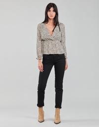 Îmbracaminte Femei Jeans drepti Freeman T.Porter ALEXA STRAIGHT S-SDM Negru