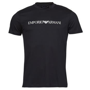 Îmbracaminte Bărbați Tricouri mânecă scurtă Emporio Armani 8N1TN5 Negru