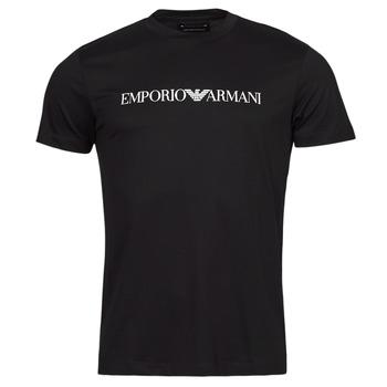 Îmbracaminte Bărbați Tricouri mânecă scurtă Emporio Armani 8N1TN5 Albastru