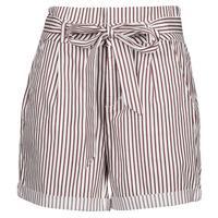 Îmbracaminte Femei Pantaloni scurti și Bermuda Vero Moda VMEVA Alb / Maro