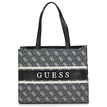 Genti Femei Sacoșe shopping și Genti shopping Guess MONIQUE TOTE Negru