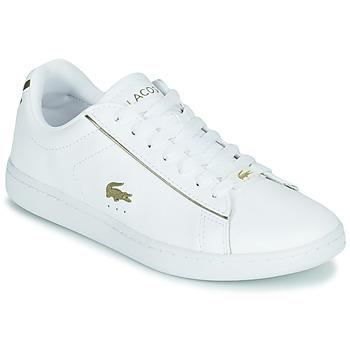 Pantofi Femei Pantofi sport Casual Lacoste CARNABY EVO 0721 3 SFA Alb