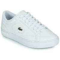 Pantofi Femei Pantofi sport Casual Lacoste POWERCOURT 0721 2 SFA Alb