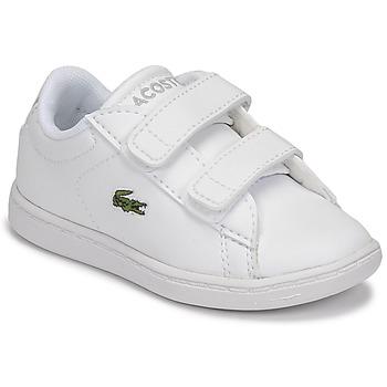 Pantofi Copii Pantofi sport Casual Lacoste CARNABY EVO BL 21 1 SUI Alb