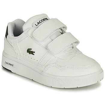 Pantofi Copii Pantofi sport Casual Lacoste T-CLIP 0121 1 SUI Alb
