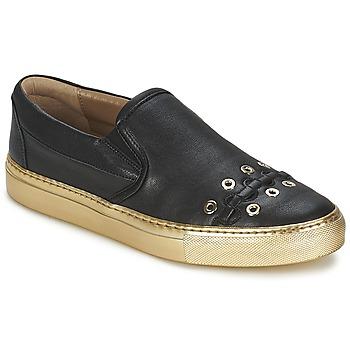 Încăltăminte Femei Pantofi Slip on Sonia Rykiel MINI ŒILLETS Negru