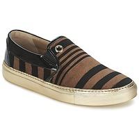 Pantofi Femei Pantofi Slip on Sonia Rykiel STRIPES VELVET Negru / Maro