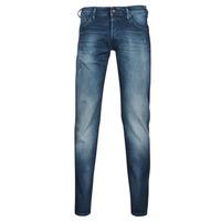 Îmbracaminte Bărbați Jeans slim Jack & Jones JIGLENN JJROCK Albastru / Medium