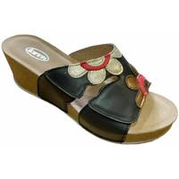Pantofi Femei Papuci de vară Calzaturificio Loren LOQ6948ner nero