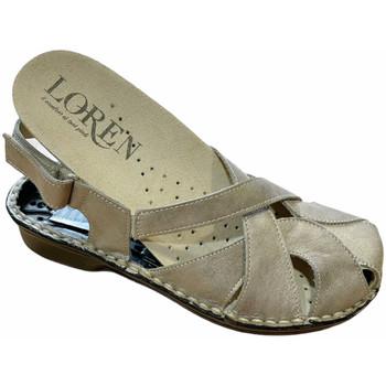 Pantofi Femei Sandale  Calzaturificio Loren LOM2867tor tortora