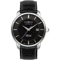 Ceasuri & Bijuterii Bărbați Ceasuri Analogice Zeppelin 8452-2, Automatic, 40mm, 5ATM Argintiu