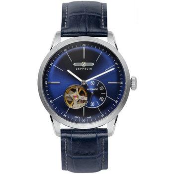Ceasuri & Bijuterii Bărbați Ceasuri Analogice Zeppelin 7364-3, Automatic, 40mm, 5ATM Argintiu