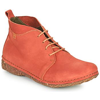 Pantofi Femei Ghete El Naturalista ANGKOR Roșu