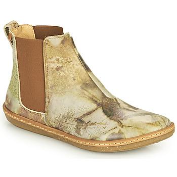 Pantofi Femei Ghete El Naturalista CORAL Gri