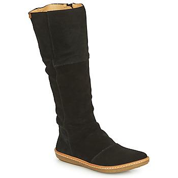 Pantofi Femei Cizme casual El Naturalista CORAL Negru