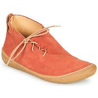 Pantofi Femei Ghete El Naturalista PAWIKAN Roșu
