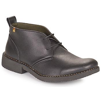 Pantofi Bărbați Ghete El Naturalista YUGEN Negru