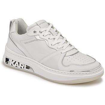 Pantofi Femei Pantofi sport Casual Karl Lagerfeld ELEKTRA LAY UP LO Alb