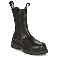 Pantofi Femei Ghete Karl Lagerfeld BIKER II LONG GORE BOOT Negru