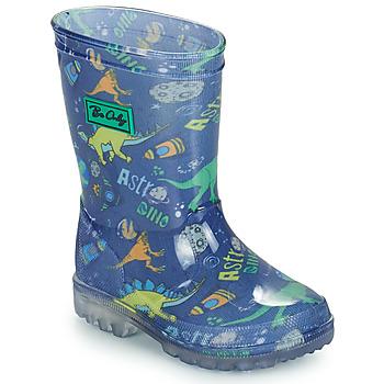 Pantofi Băieți Cizme de cauciuc Be Only DINO FLASH Albastru / Verde