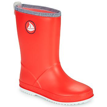 Pantofi Copii Cizme de cauciuc Be Only CORVETTE Roșu