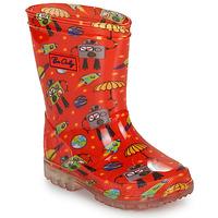 Pantofi Băieți Cizme de cauciuc Be Only CYBORG Roșu