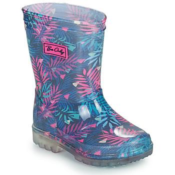 Pantofi Fete Cizme de cauciuc Be Only BINTOU Albastru / Roz