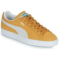 Pantofi Pantofi sport Casual Puma SUEDE Galben / Alb