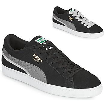 Pantofi Bărbați Pantofi sport Casual Puma SUEDE TRIPLEX Negru / Gri