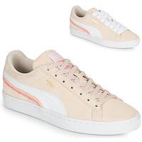 Pantofi Femei Pantofi sport Casual Puma SUEDE TRIPLEX Roz / Alb