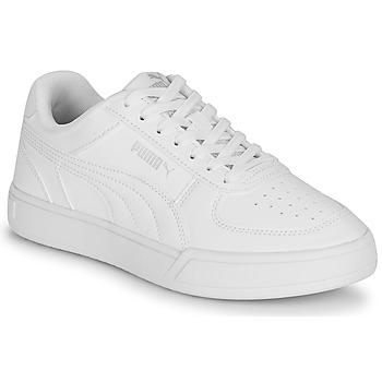 Pantofi Copii Pantofi sport Casual Puma CAVEN JR Alb