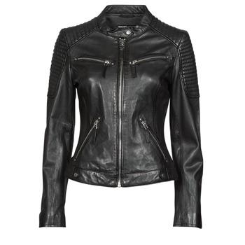Îmbracaminte Femei Jachete din piele și material sintetic Oakwood HILLS6 Negru