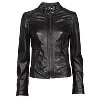 Îmbracaminte Femei Jachete din piele și material sintetic Oakwood KARINE Negru