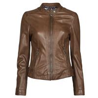 Îmbracaminte Femei Jachete din piele și material sintetic Oakwood KARINE Maro