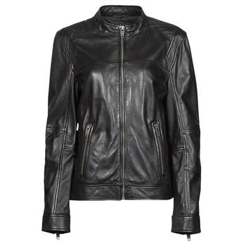 Îmbracaminte Femei Jachete din piele și material sintetic Oakwood DUBLIN Negru