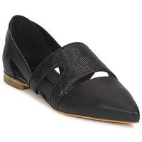 Pantofi Femei Balerin și Balerini cu curea McQ Alexander McQueen 318321 Negru