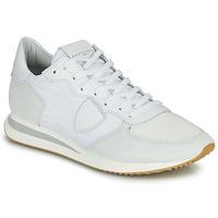 Pantofi Bărbați Pantofi sport Casual Philippe Model TRPX LOW BASIC Alb