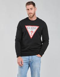 Îmbracaminte Bărbați Hanorace  Guess AUDLEY CN FLEECE Negru