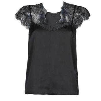 Îmbracaminte Femei Topuri și Bluze Guess SS MIRANDA TOP Negru