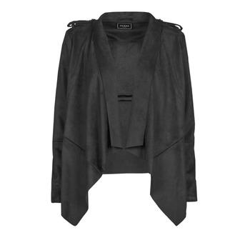 Îmbracaminte Femei Jachete din piele și material sintetic Guess SOFIA JACKET Negru