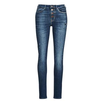 Îmbracaminte Femei Jeans skinny Guess 1982 EXPOSED BUTTON Albastru / Culoare închisă