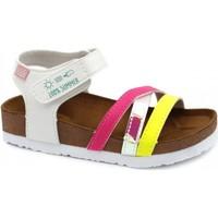 Pantofi Fete Sandale  Gioseppo CHANCLAS NIÑA  REID 62326 Alb