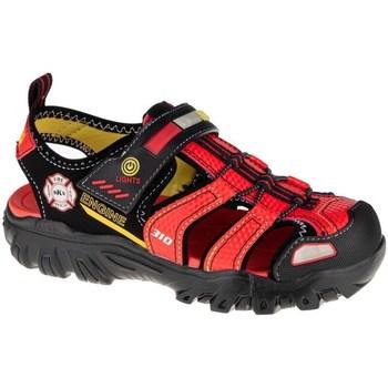 Pantofi Copii Sandale  Skechers Damager Iii Negre, Roșii