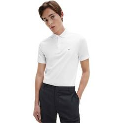 Îmbracaminte Bărbați Tricou Polo mânecă scurtă Calvin Klein Jeans K10K107090 Alb
