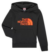 Îmbracaminte Băieți Hanorace  The North Face DREW PEAK HOODIE Negru