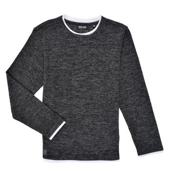 Îmbracaminte Băieți Tricouri cu mânecă lungă  Deeluxe MONAN Negru