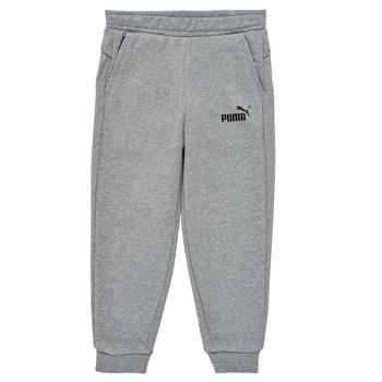 Îmbracaminte Băieți Pantaloni de trening Puma ESSENTIAL SLIM PANT Gri