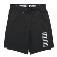 Îmbracaminte Băieți Pantaloni scurti și Bermuda Puma ALPHA SHORT Negru
