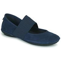 Pantofi Femei Balerin și Balerini cu curea Camper RIGHT NINA Albastru